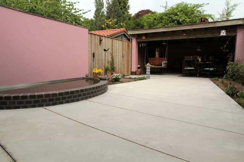 A van spelde hoveniers exclusieve tuin aanleggen eindhoven for Moderne tuin aanleggen