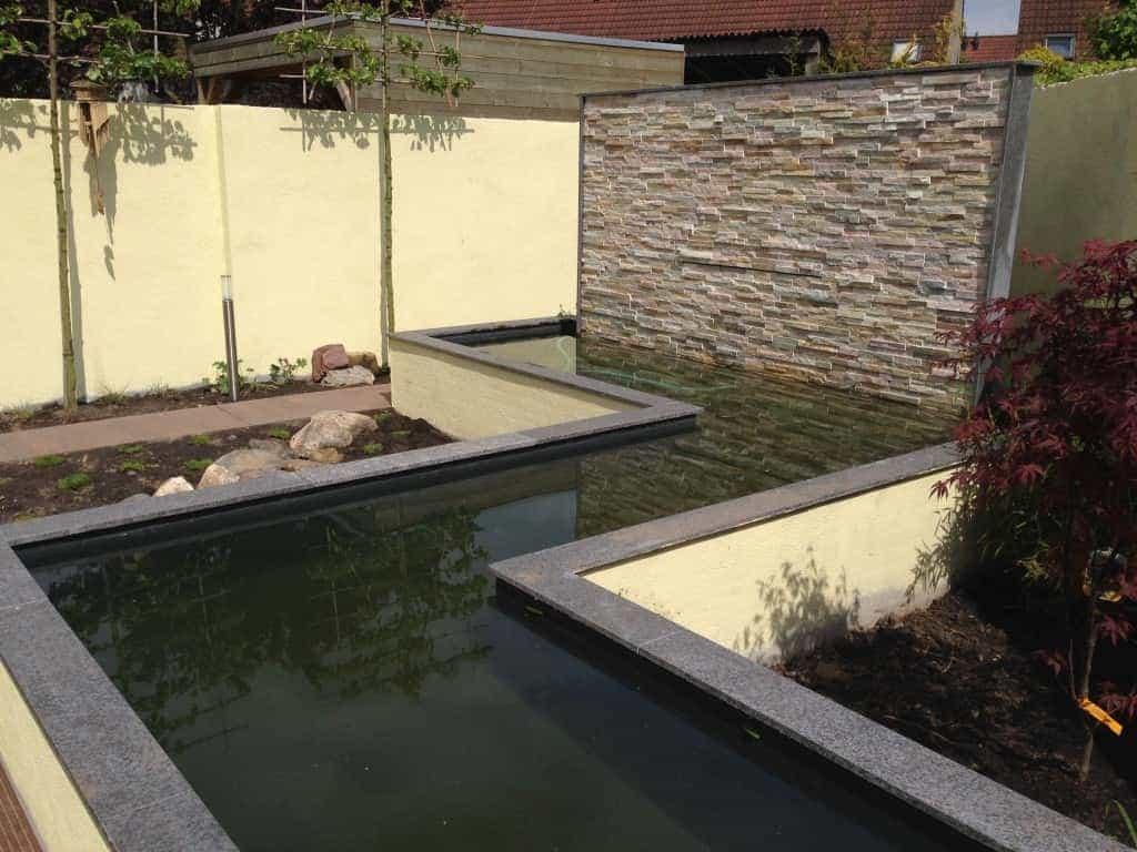 A van spelde hoveniers tuin renoveren etten leur for Vijverrand maken