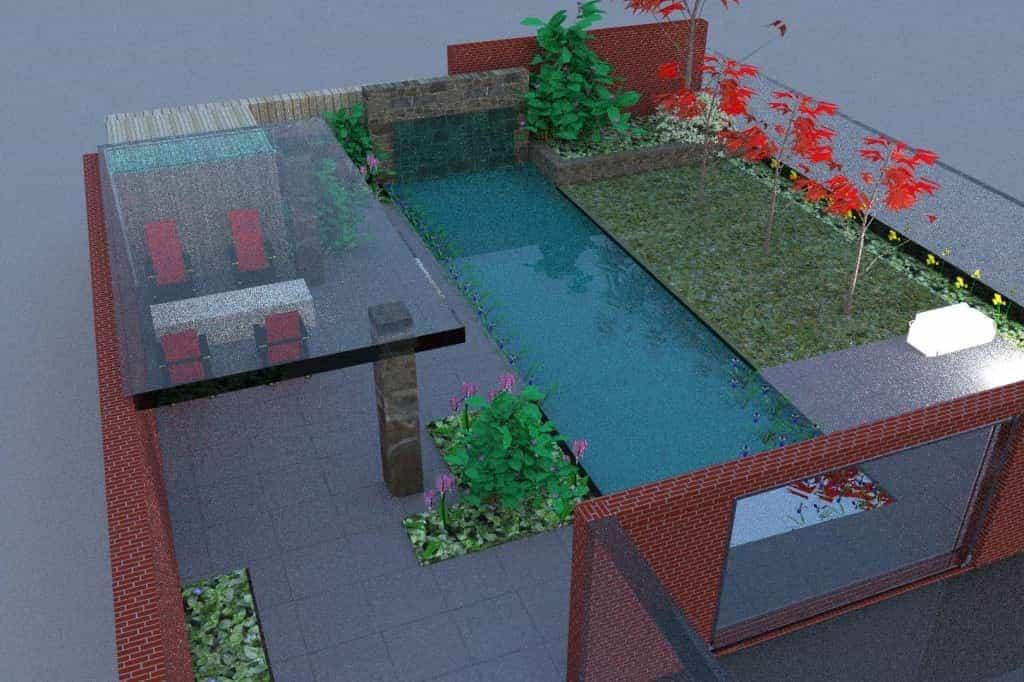 A van spelde hoveniers tuinontwerpen design tuinen - Idee van allee tuin ...