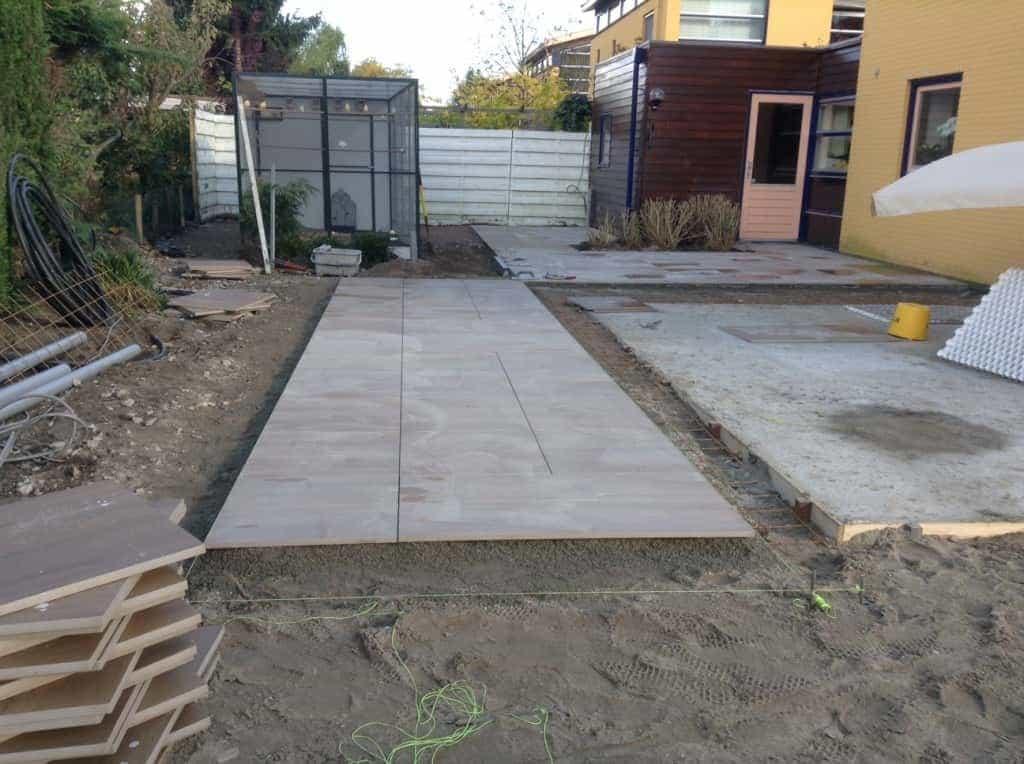 A van spelde hoveniers keramische buitentegels leggen almere - Een terras aan het plannen ...