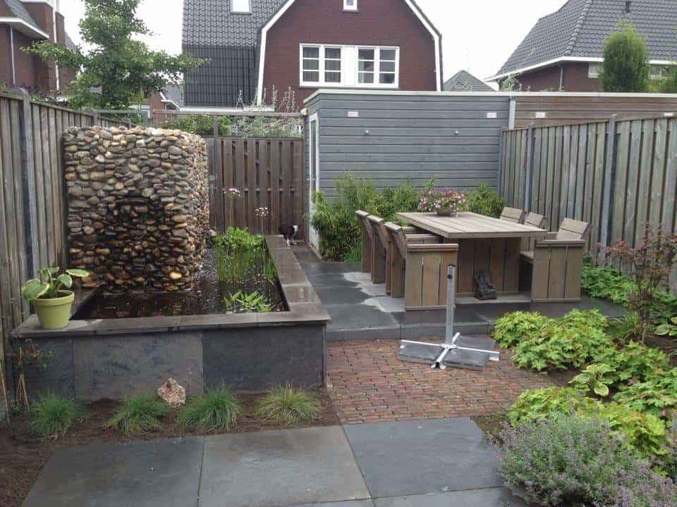 A van spelde hoveniers tuin aanleggen tilburg for Moderne tuin aanleggen