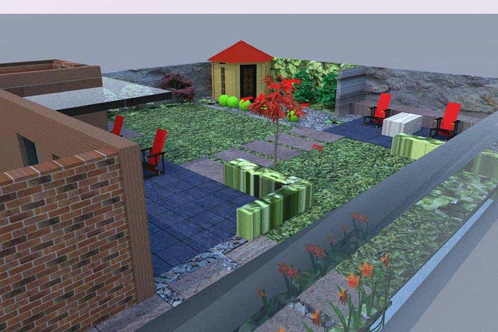 A van spelde hoveniers tuinontwerpen breda for Tuinontwerpen achtertuin