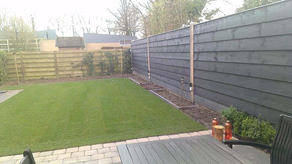 A van spelde hoveniers moderne schuttingen for Schutting tuin