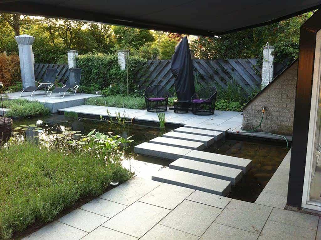 A van spelde hoveniers tuin renoveren in breda regenwulp for Tuinen aanleggen foto s