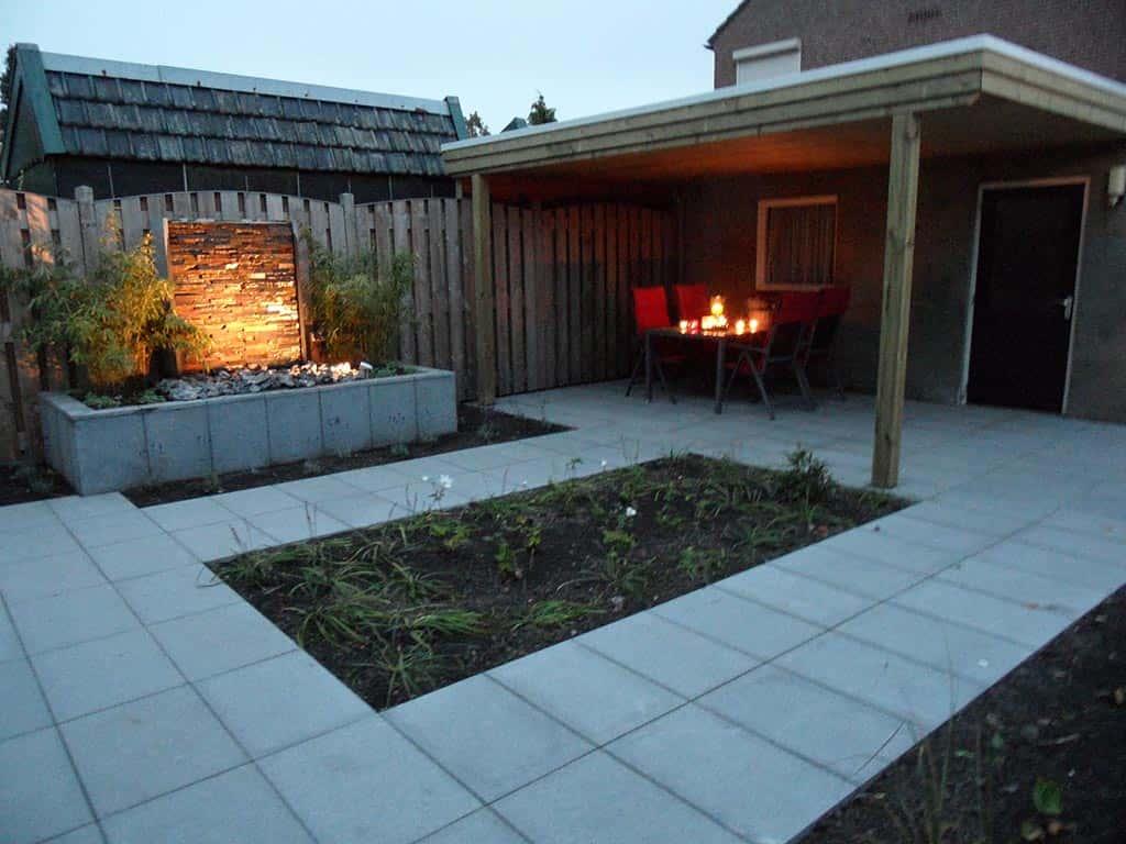 Tuin Met Tegels : A van spelde hoveniers: natuursteen voor buiten in de tuin
