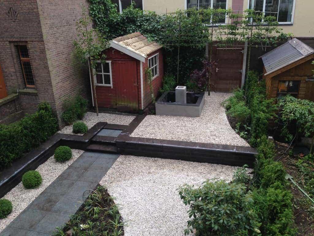 Goedkoop Tuin Aanleggen : A van spelde hoveniers tuin aanleggen in centrum amsterdam