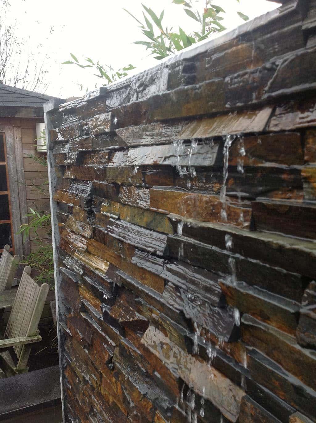 A van spelde hoveniers stenen tuinmuren for Tuin decoratie met stenen