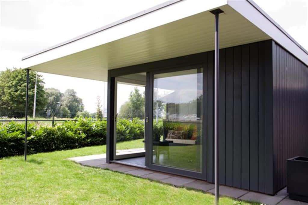 moderne strakke design tuinhuizen Velp