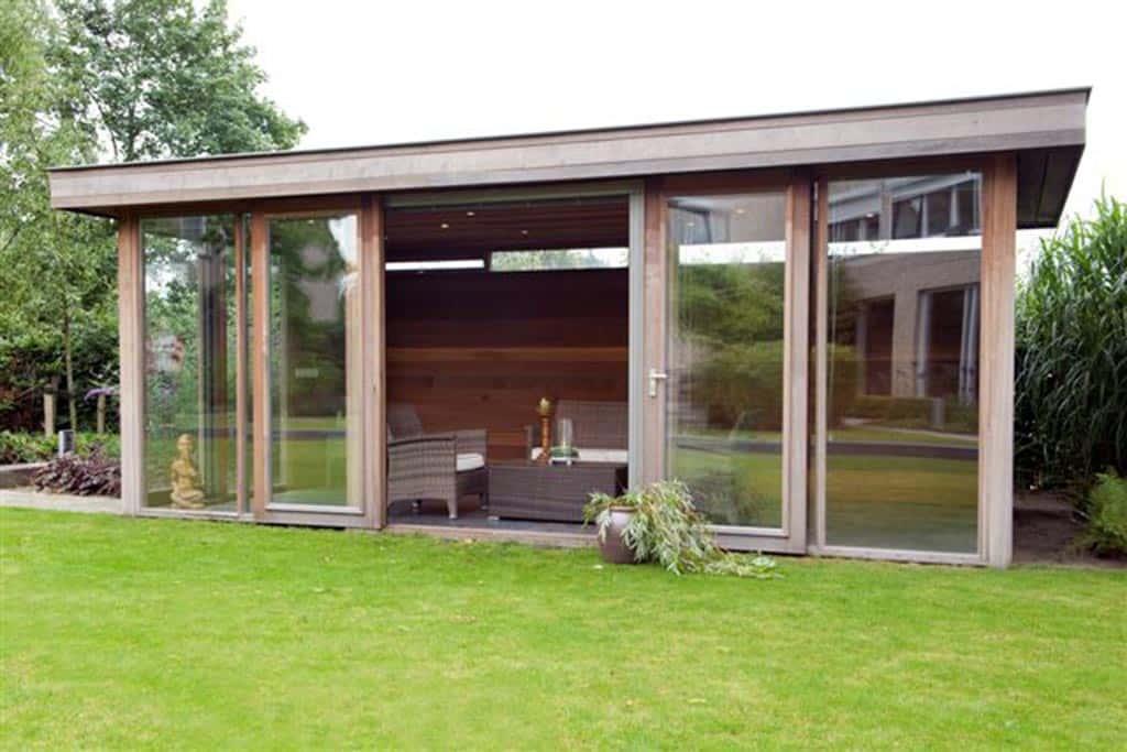 A Van Spelde Hoveniers Moderne Tuinhuizen Overkappingen