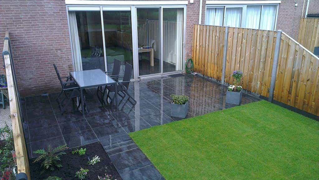 Tuin Met Tegels : A van spelde hoveniers: keramische buitentegels leggen