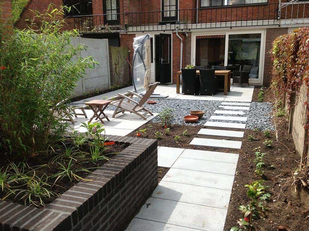 A van spelde hoveniers achtertuin renoveren tilburg for Tuin aanleggen