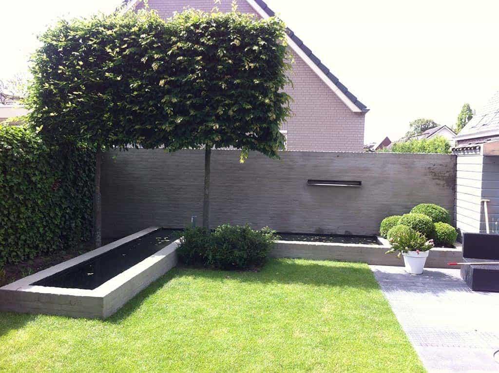 A van spelde hoveniers design tuin aanlegen for Moderne vijvers foto s