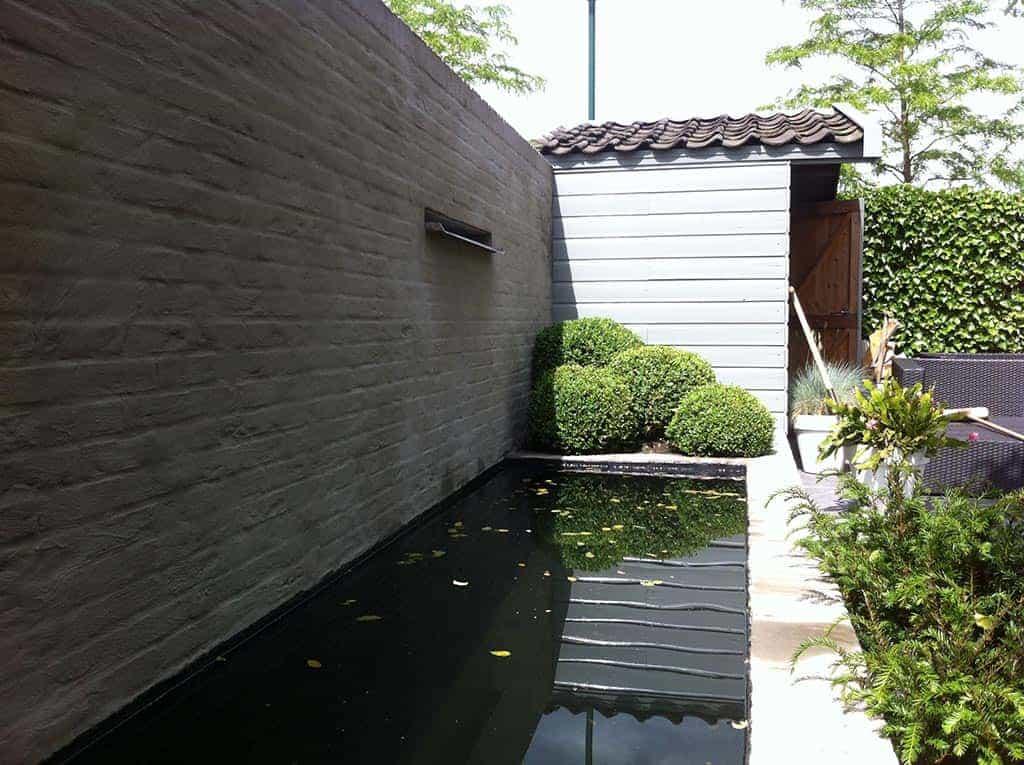 A van spelde hoveniers design tuin aanlegen for Moderne tuin aanleggen