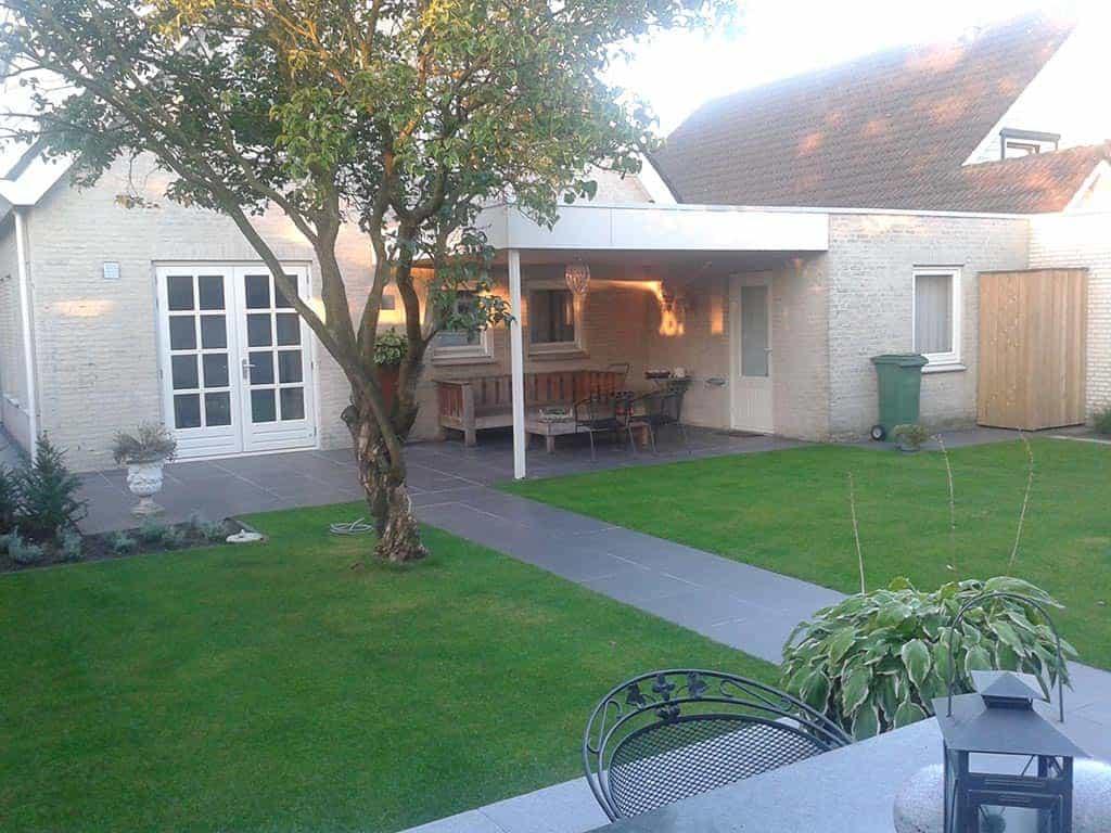 A van spelde hoveniers keramische buitentegels leggen oisterwijk - Tuin ontwerp foto ...