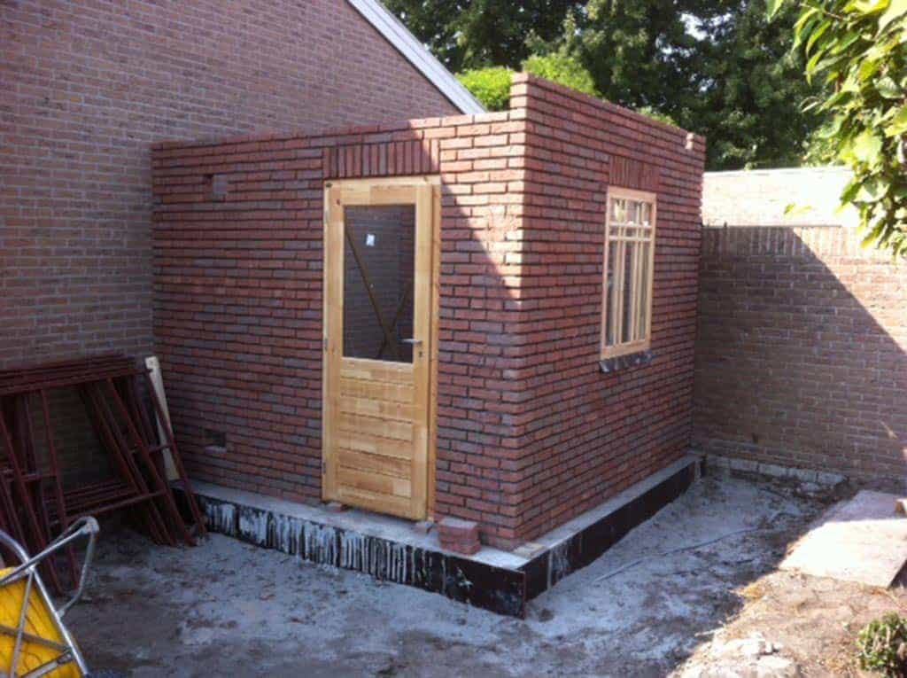 A van spelde hoveniers verbouw renovatie aanbouw oisterwijk for Beneden tuin