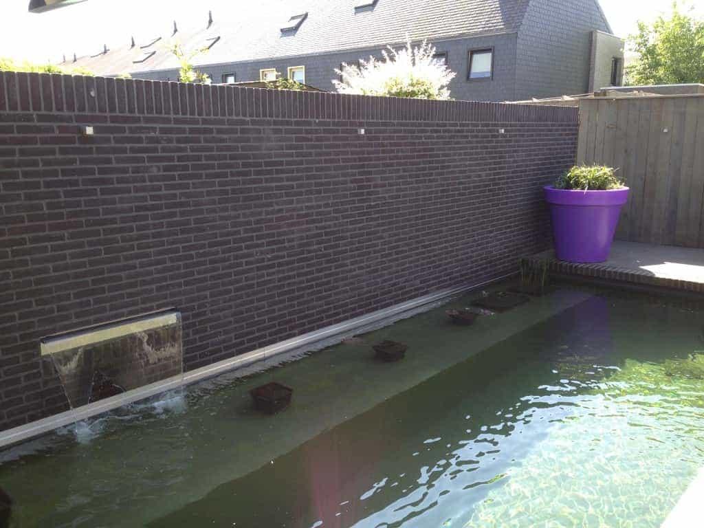 A van spelde hoveniers zwemvijver aanleggen for Vijverbak groot