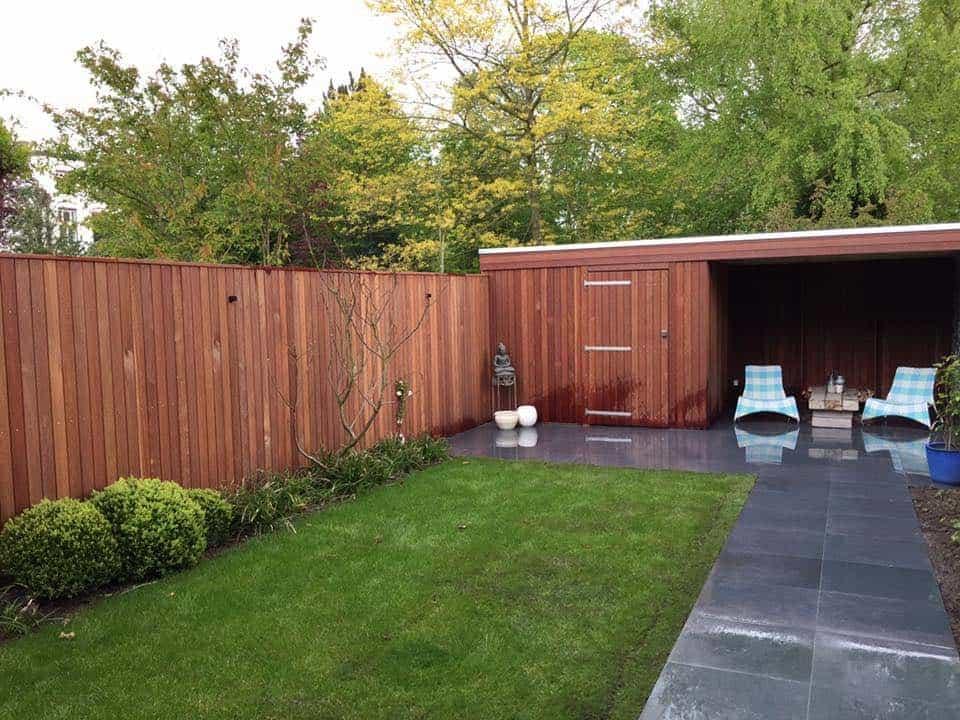 A van spelde hoveniers moderne tuin aanleggen breda