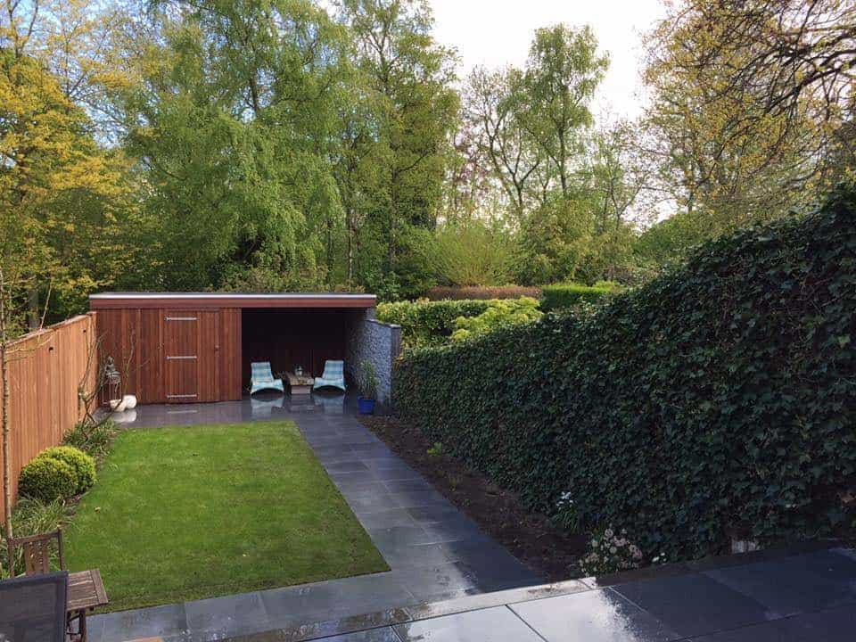 A van spelde hoveniers moderne tuin aanleggen breda for Moderne tuin aanleggen