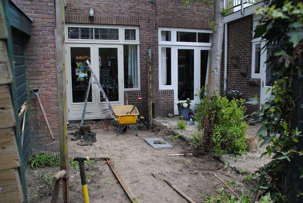 A van spelde hoveniers aanleg strakke tuin in utrecht for Tuinontwerpen utrecht