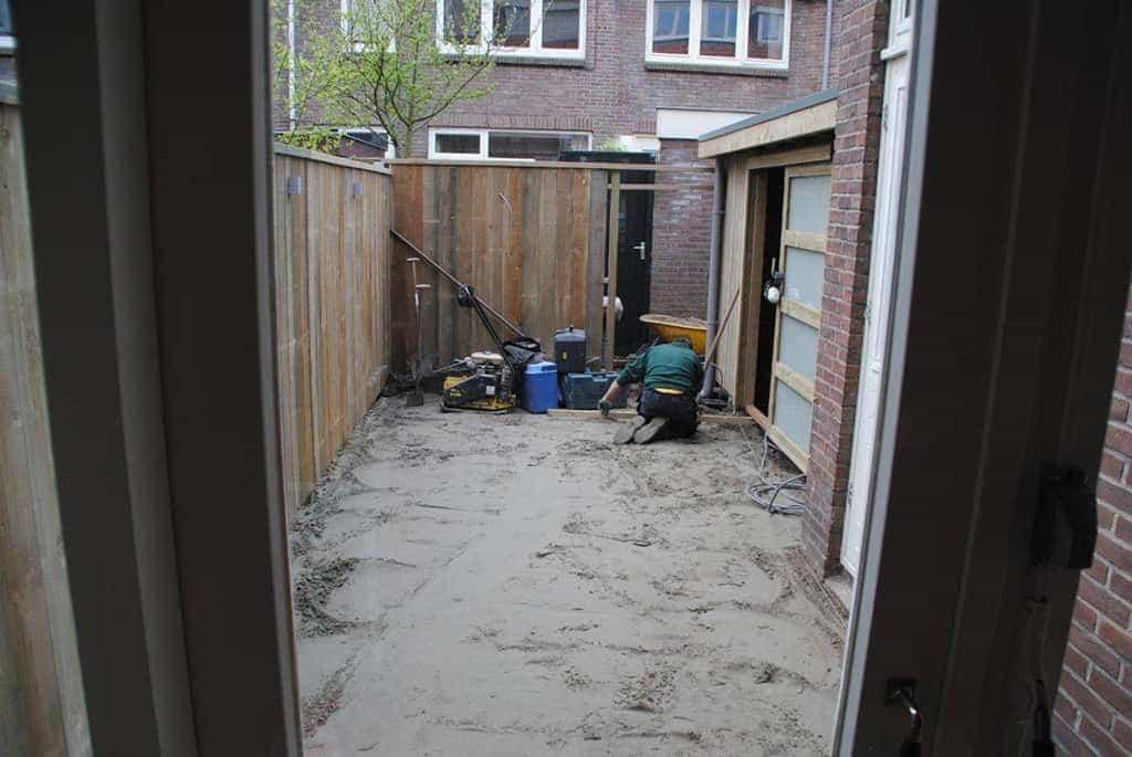 A van spelde hoveniers aanleg strakke tuin in utrecht for Strakke kleine tuin