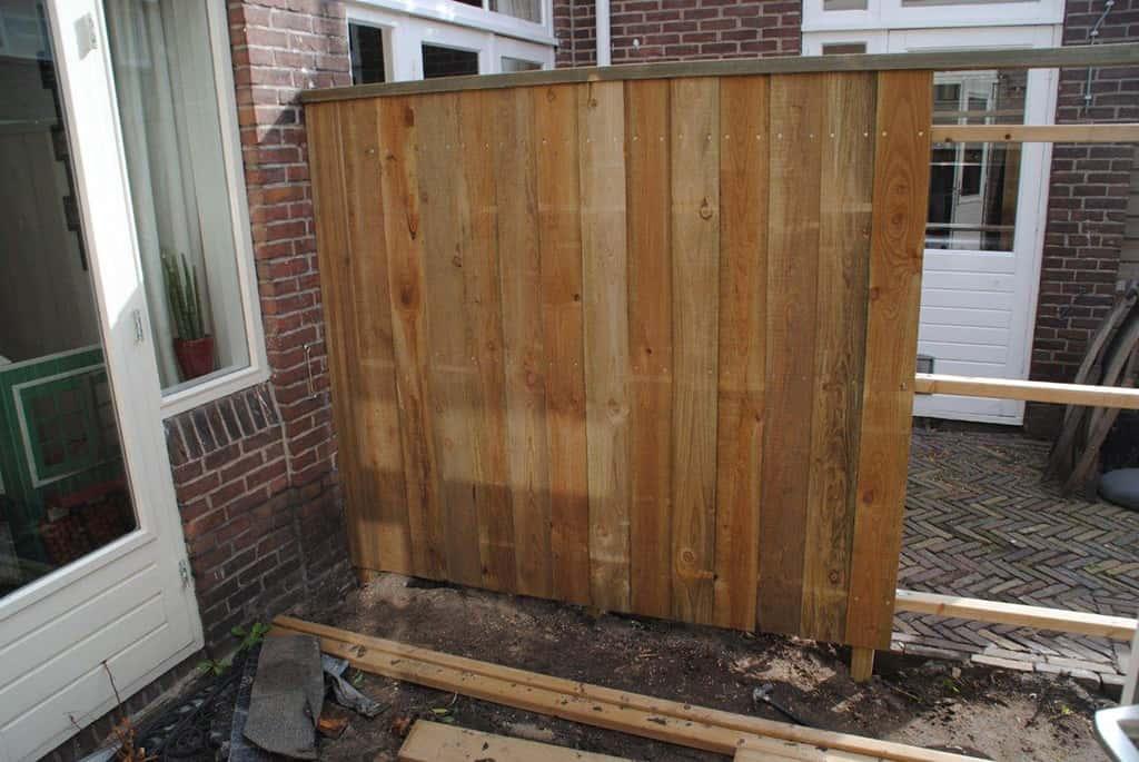 A van spelde hoveniers schuttingen for Schutting tuin