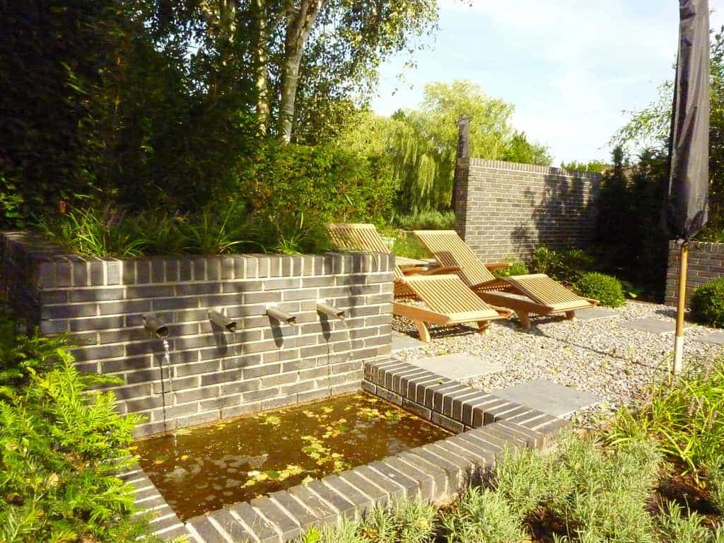 A van spelde hoveniers strakke tuin in tilburg for Strakke kleine tuin