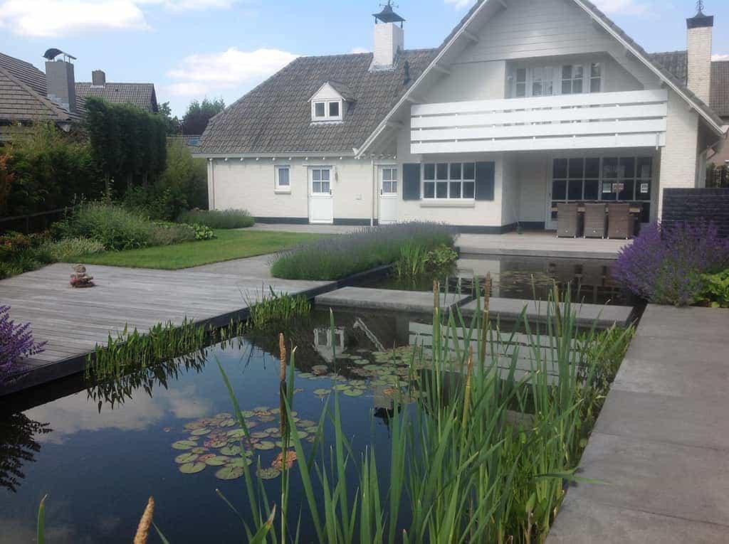 A van spelde hoveniers moderne strakke tuin aanleggen tilburg - Deco van de tuin ...