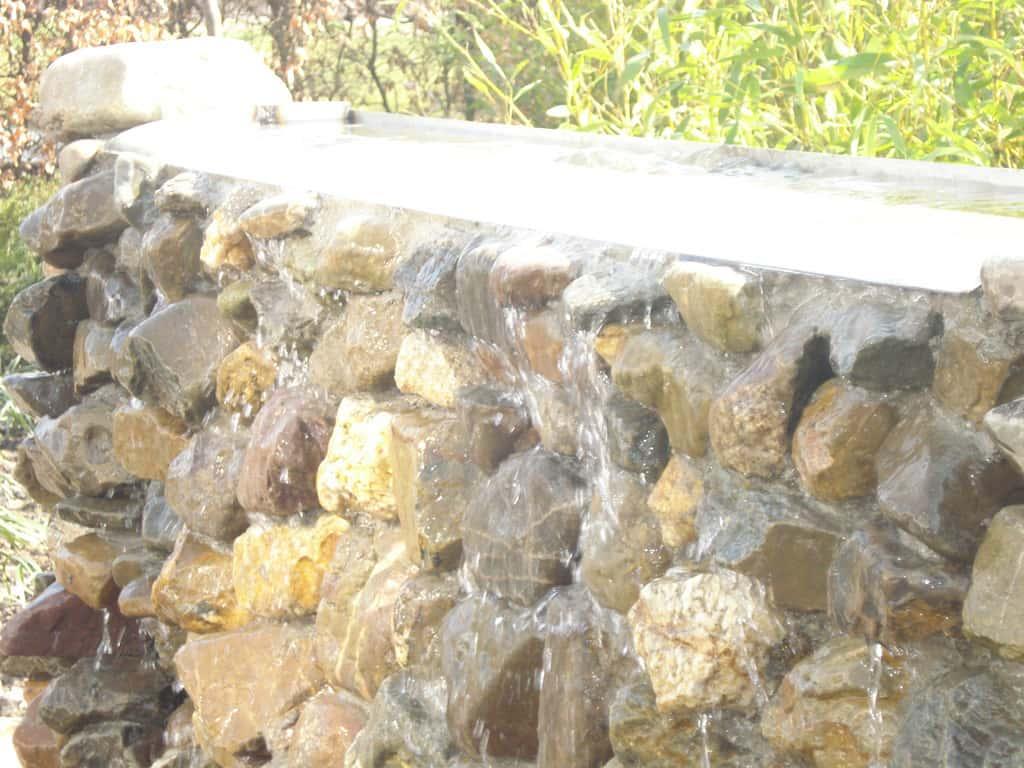 waterval met boven rvs goot 200*10*20 hovenier tilburg udenhout ...