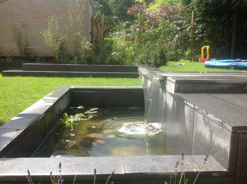 Bekend Vijver Waterval Zelf Maken. Excellent Vijver In Tuin With Vijver  AJ14